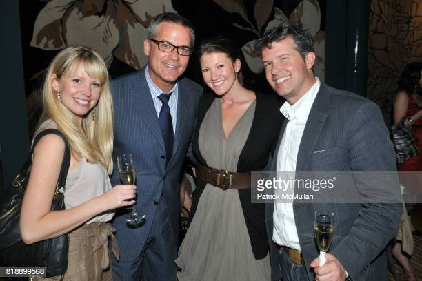 Sarah Olman Philip Erdoes Amanda Price and David Harris attend The RUG COMPANY Unveils New Showroom Cocktail Party at The Rug Company on May 17 2010...