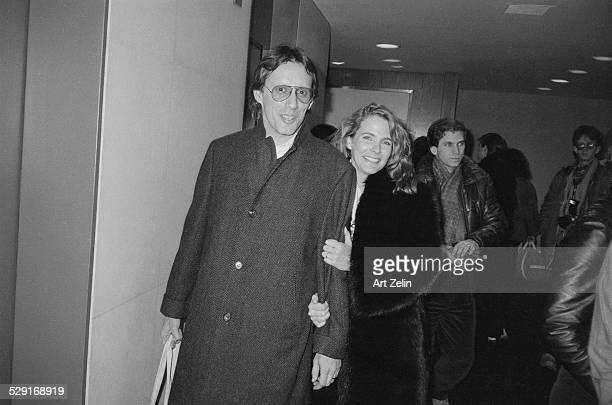 Sarah Owen walking with James Woods circa 1970 New York