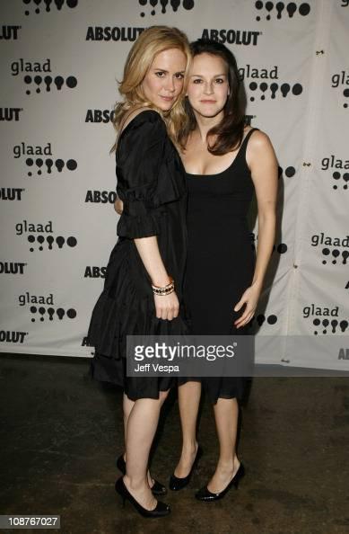 Sarah Paulson and Carla Gallo...