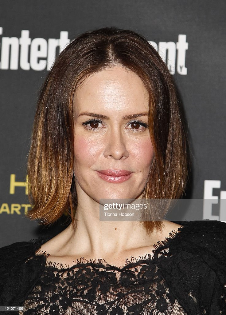 <a gi-track='captionPersonalityLinkClicked' href=/galleries/search?phrase=Sarah+Paulson&family=editorial&specificpeople=220657 ng-click='$event.stopPropagation()'>Sarah Paulson</a> attends Entertainment Weekly's Pre-Emmy party at Fig & Olive Melrose Place on August 23, 2014 in West Hollywood, California.