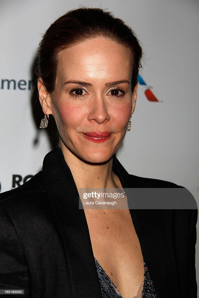 <a gi-track='captionPersonalityLinkClicked' href=/galleries/search?phrase=Sarah+Paulson&family=editorial&specificpeople=220657 ng-click='$event.stopPropagation()'>Sarah Paulson</a> attends 'Talley's Folly' Opening Night at Laura Pels Theatre at the Harold & Miriam Steinberg Center for on March 5, 2013 in New York City.