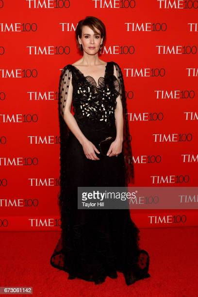 Sarah Paulson attends the 2017 Time 100 Gala at Jazz at Lincoln Center on April 25 2017 in New York City