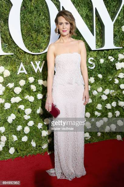 Sarah Paulson attends the 71st Annual Tony Awards at Radio City Music Hall on June 11 2017 in New York City