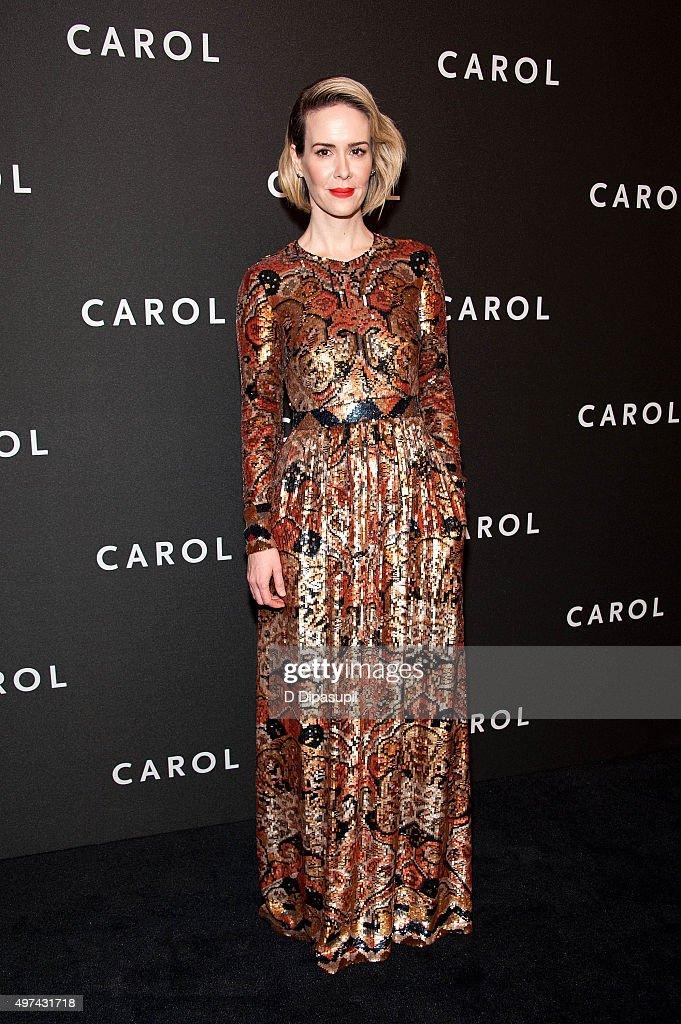 """Carol"" New York Premiere"