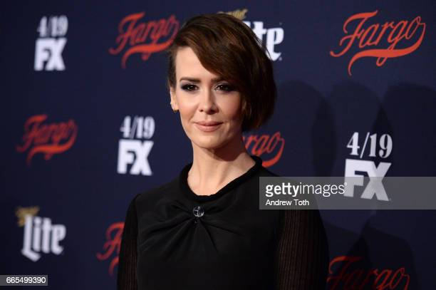 Sarah Paulson attends the FX Network 2017 AllStar Upfront at SVA Theater on April 6 2017 in New York City