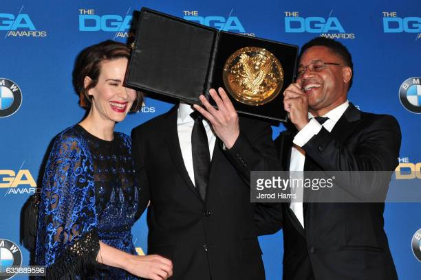 Sarah Paulson Don Trachtenberg and Cuba Gooding Jr attend the 69th Annual Directors Guild of America Awards at The Beverly Hilton Hotel on February 4...