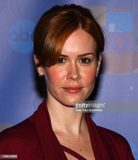 Sarah Paulson during ABC AllStar Party at Astra West in West Hollywood California United States