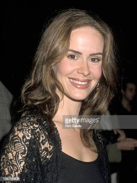 Sarah Paulson during 'Best in Show' Los Angeles Premiere at DGA Theater in Los Angeles California United States