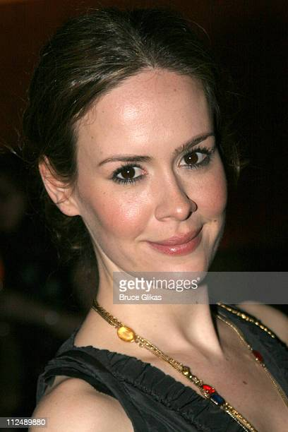 Sarah Paulson during 'The Glass Menagerie' Opening Night on Broadway at Ethel Barrymore Theatre Bryant Park Grill in New York City New York United...
