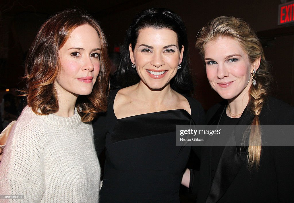 <a gi-track='captionPersonalityLinkClicked' href=/galleries/search?phrase=Sarah+Paulson&family=editorial&specificpeople=220657 ng-click='$event.stopPropagation()'>Sarah Paulson</a>, <a gi-track='captionPersonalityLinkClicked' href=/galleries/search?phrase=Julianna+Margulies&family=editorial&specificpeople=208994 ng-click='$event.stopPropagation()'>Julianna Margulies</a> and <a gi-track='captionPersonalityLinkClicked' href=/galleries/search?phrase=Lily+Rabe&family=editorial&specificpeople=233506 ng-click='$event.stopPropagation()'>Lily Rabe</a> attend MCC Theater Company's Miscast 2013 at Hammerstein Ballroom on March 4, 2013 in New York City.