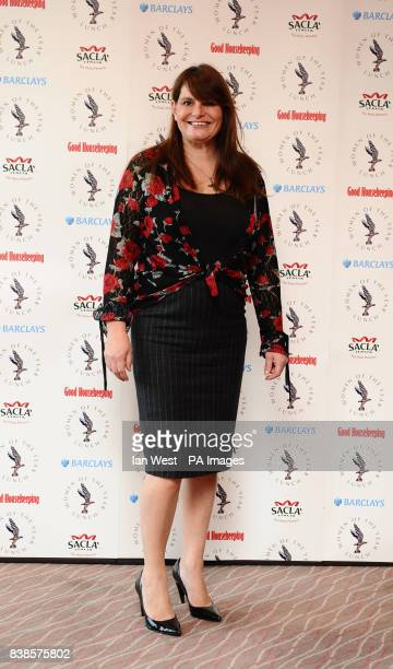Sarah Payne arrives at the Women of the Year Awards at the Intercontinental Hotel in London