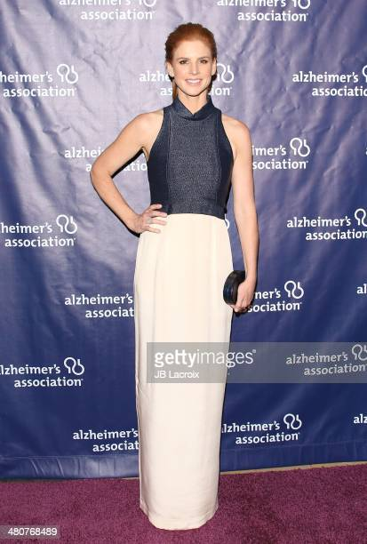 Sarah Rafferty attends 'A Night At Sardi's' To Benefit The Alzheimer's Association held at the Beverly Hitlon Hotel on March 26 2014 in Beverly Hills...