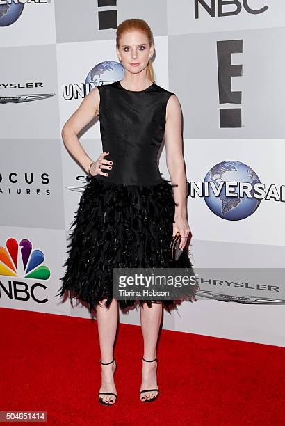 Sarah Rafferty attends NBCUniversal's 73rd Annual Golden Globes After Party at The Beverly Hilton Hotel on January 10 2016 in Beverly Hills California