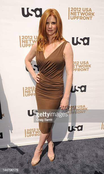 Sarah Rafferty attends the USA Network's 2012 Upfront Event at Alice Tully Hall on May 17 2012 in New York City
