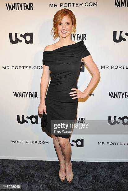 Sarah Rafferty of Suits attends USA Network and Mr Portercom Present 'A Suits Story' on June 12 2012 in New York United States