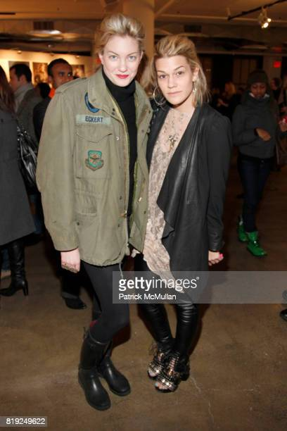 Sarah Robinson and Jenne Lombardo attend TEMPERLEY LONDON Presentation at Milk Studios on February 16 2010 in New York City