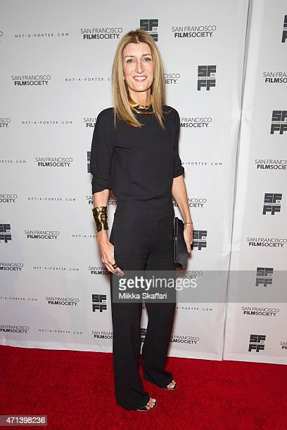 Sarah Rutson arrives at the Film Society Awards night at 58th San Francisco International Film Festival at The Armory on April 27 2015 in San...