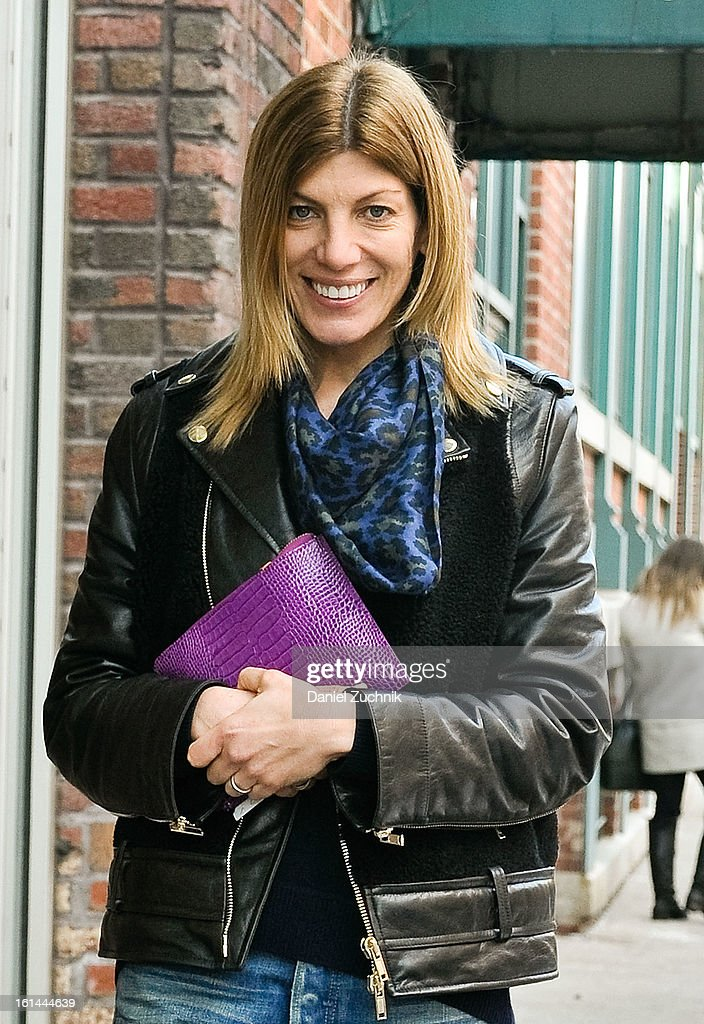 Sarah Rutson seen outside the Thakoon show on February 10, 2013 in New York City.
