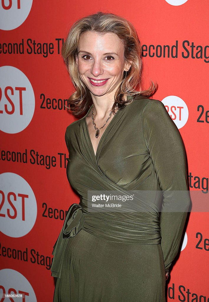 Sarah Saltzberg attends the after party for the opening night production of 'Little Miss Sunshine' at Yotel on November 14, 2013 in New York City.