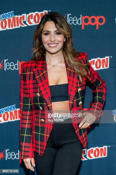 Sarah Shahi attends the Reverie press room during 2017 New York Comic Con Day 3 on October 7 2017 in New York City