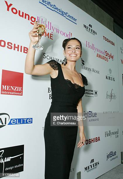 Sarah Shahi during Movieline Magazine's Hollywood Style Awards Sponsored by Krug Champagne at Pacific Design Center in Hollywood California United...