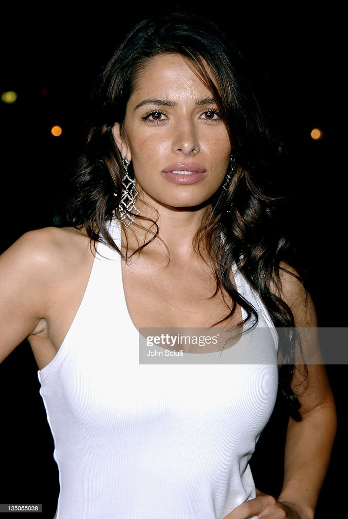Sarah Shahi during 'Supercross' Los Angeles Premiere Red Carpet at Veterans Administration Complex in Westwood California United States