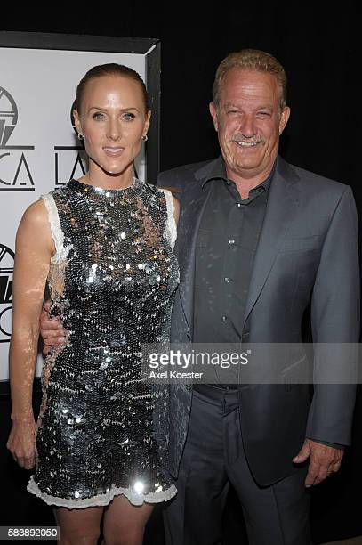 Sarah SiegelMagness and Gary Magness producer of Precious arrive to the 35th Annual Los Angeles Film Critics Association Awards held at the Hotel...