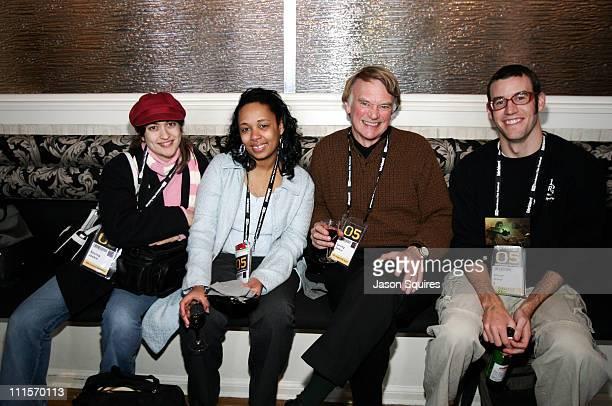 Sarah Silver Selena Burks director of 'Saving Jackie' Stewart McDowell and Shane Acker director of '9'
