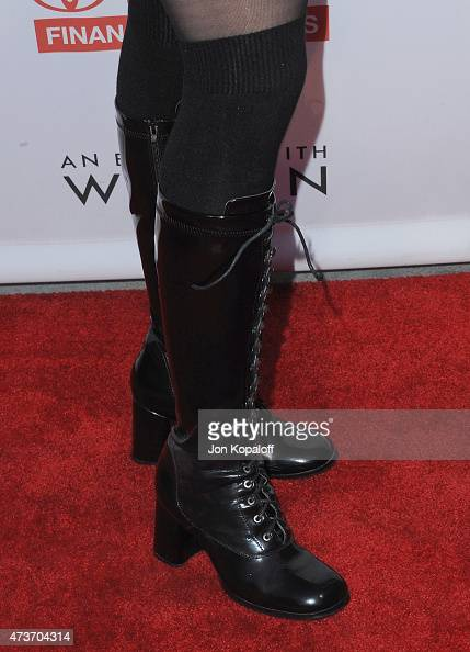 Sarah Silverman arrives at An Evening With Women Benefitting The Los Angeles LGBT Center at Hollywood Palladium on May 16 2015 in Los Angeles...