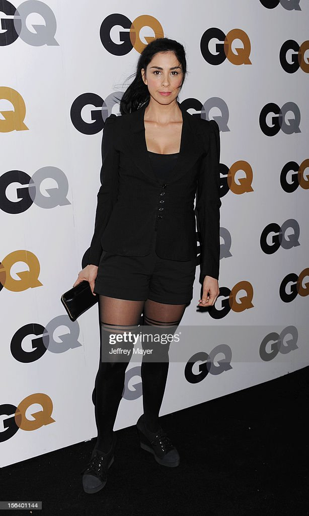 Sarah Silverman arrives at the GQ Men Of The Year Party at Chateau Marmont Hotel on November 13, 2012 in Los Angeles, California.