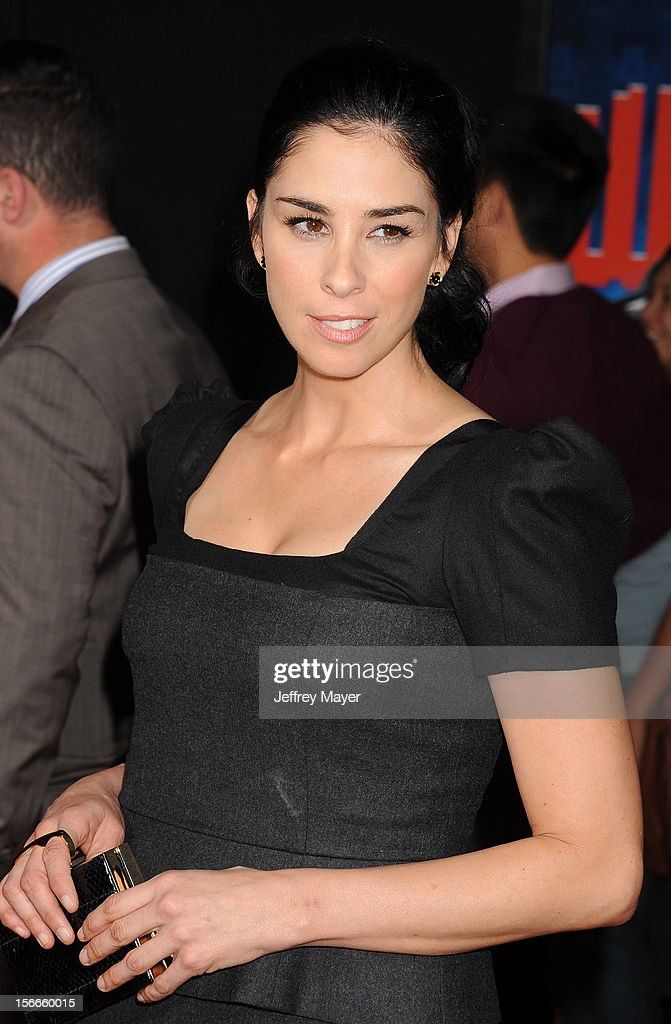Sarah Silverman arrives at the Los Angeles premiere of 'Wreck-It Ralph' at the El Capitan Theatre on October 29, 2012 in Hollywood, California.