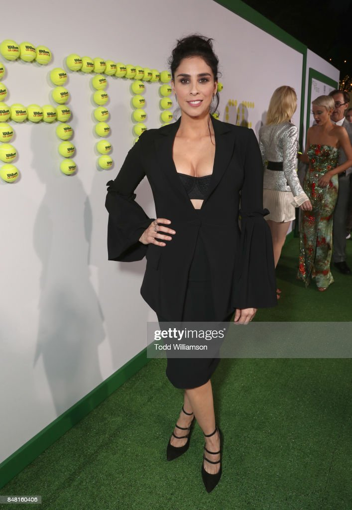 Sarah Silverman at Fox Searchlight's 'Battle of the Sexes' Los Angeles Premiere on September 16, 2017 in Westwood, California.