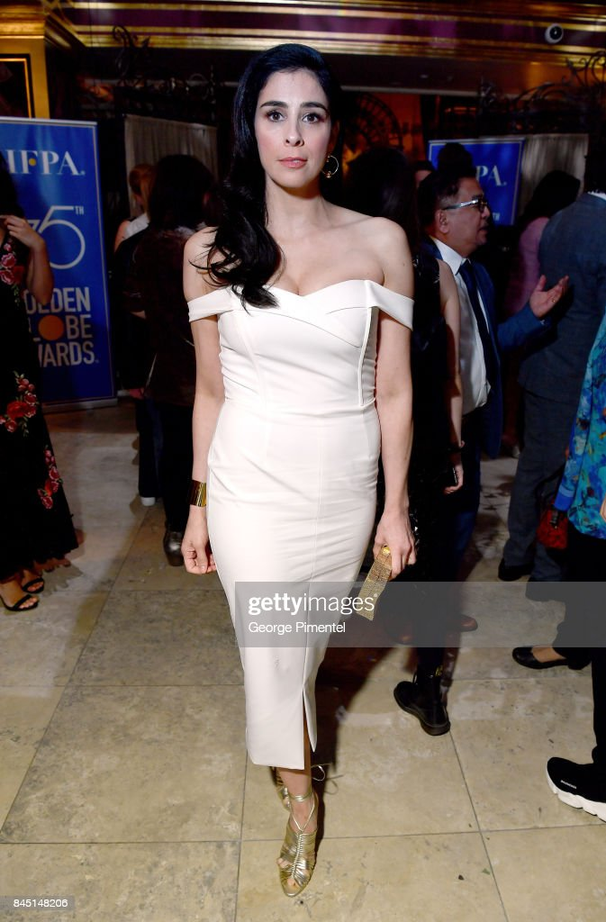 Sarah Silverman attends The Hollywood Foreign Press Association (HFPA) and InStyle's annual celebrations of the 2017 Toronto International Film Festival at Windsor Arms Hotel on September 9, 2017 in Toronto, Canada.