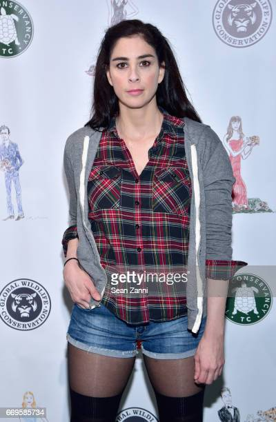 Sarah Silverman attends The Turtle Conservancy's 4th Annual Turtle Ball at The Bowery Hotel on April 17 2017 in New York City