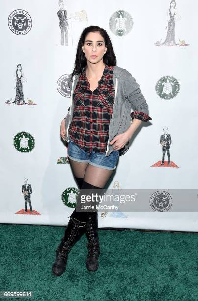 Sarah Silverman attends The Turtle Conservancy's Fourth Annual Turtle Ballat The Bowery Hotel on April 17 2017 in New York City