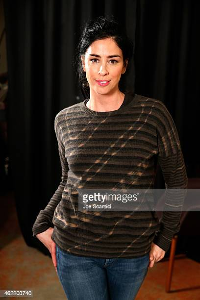 Sarah Silverman attends The Variety Studio At Sundance Presented By Dockers on January 25 2015 in Park City Utah