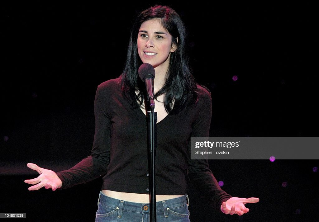 Sarah Silverman during Comedy Tonight - A Night of Comedy to Benefit the 92nd Street Y at The 92nd Street Y in New York City, NY, United States.