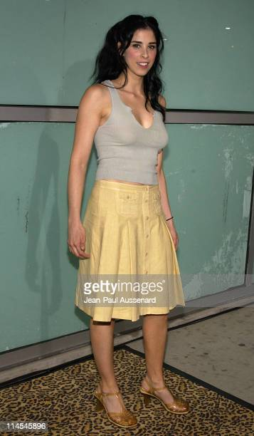 Sarah Silverman during 'School of Rock' Premiere Arrivals at Cinerama Dome in Hollywood California United States