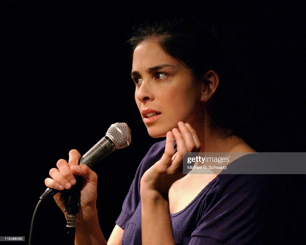Sarah Silverman performs at The Hollywood Improv in Hollwood CA on August 29 2007