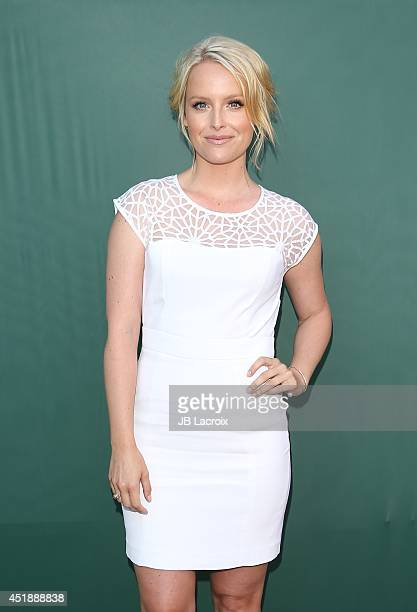 Sarah Smyth attends the Television Critics Association Summer Press Tour Hallmark Channel Hallmark Movie Channel Celebration held at the Northpole...