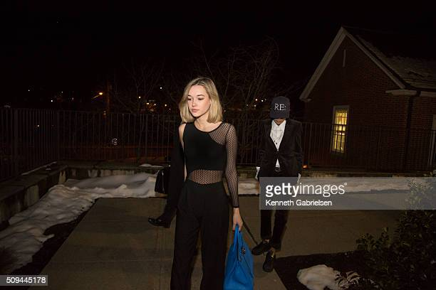 Sarah Snyder departs the Bedford Town Court on February 10 2016 in Bedford New York All charges against her were dismissed Snyder had been arrested...