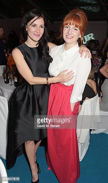 Sarah Solemani and Alice Levine attend the Glamour Women Of The Year awards at Berkeley Square Gardens on June 2 2015 in London England