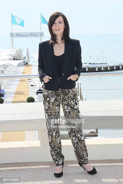 Sarah Solemani attends 'The Five' Photocall as part of MIPCOM 2015 on La Croisette on October 5 2015 in Cannes France
