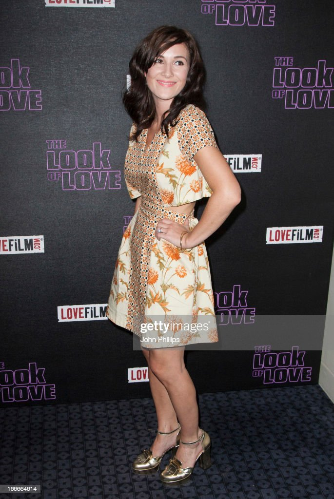 Sarah Solemani attends 'The Look Of Love' UK premiere at Curzon Soho on April 15 2013 in London England