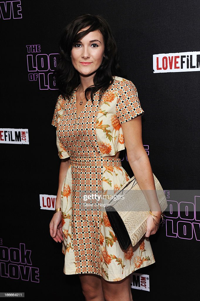Sarah Solemani attends the UK premiere of 'The Look Of Love' at The Curzon Soho on April 15, 2013 in London, England.