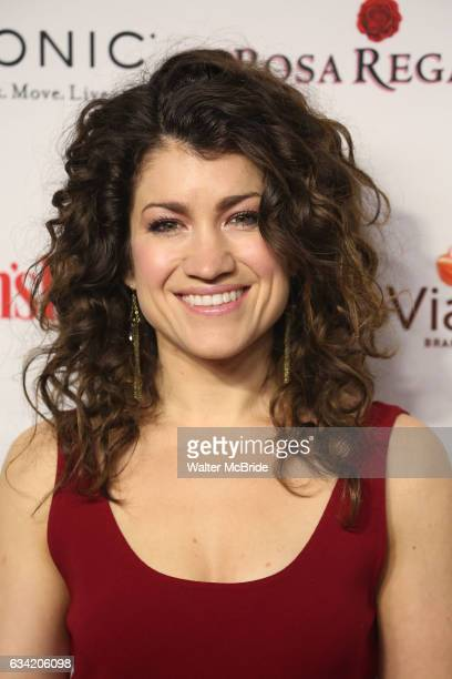 Sarah Stiles attends the 14th Annual Red Dress Awards presented by Woman's Day Magazine at Jazz at Lincoln Center Appel Room on February 7 2017 in...