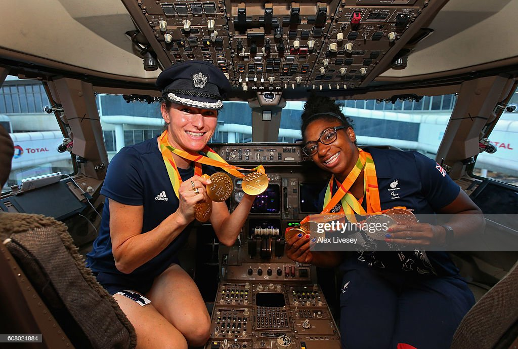 Paralympics GB Fly Home from Rio