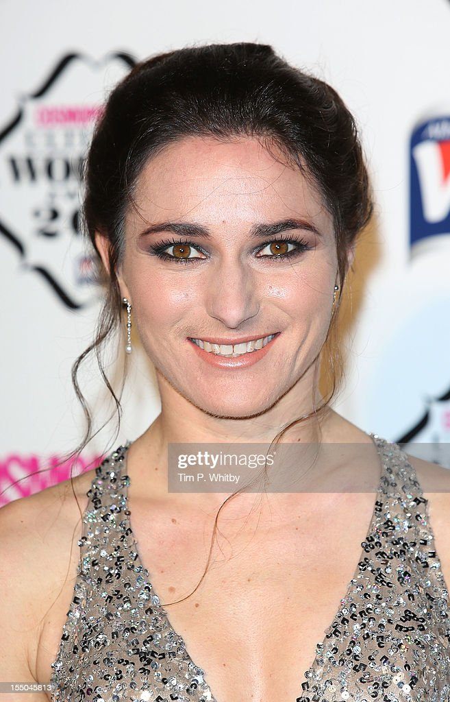 Sarah Storey attends the Cosmopolitan Ultimate Woman of the Year awards at Victoria & Albert Museum on October 30, 2012 in London, England.