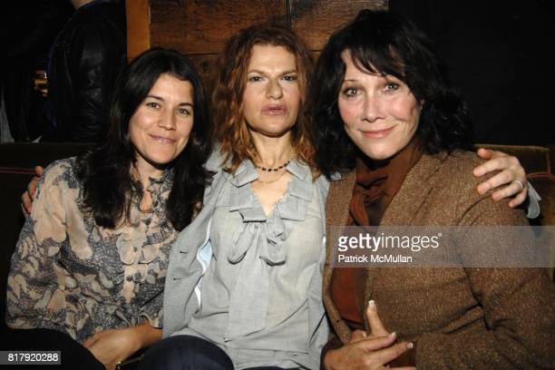 Sarah Switzer Sandra Bernhard and Michele Lee attend Gramercy Park Hotel Presents Liza Minnelli Live At The Rose Bar Sessions at Rose Bar on...