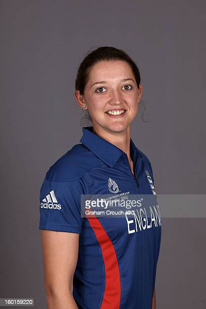 Sarah Taylor of England attends a portrait session ahead of the ICC Womens World Cup 2013 at the Taj Mahal Palace Hotel on January 27 2013 in Mumbai...